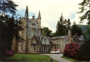The beautiful Benmore Centre.
